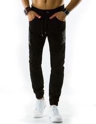 Sportovní pánské baggy kalhoty černé