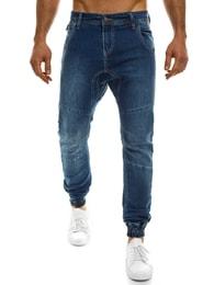 Black Rock Pánské moderní úzké modré džíny BLACK ROCK 4359