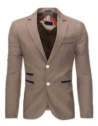 Béžové trendy pánské sako