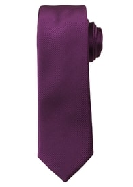 Zářivě růžová pánská kravata