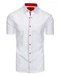 Bílá atraktivní pánská košile