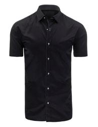 Trendy černá pánská SLIM FIT košile