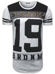 Black Rock Jedinečné šedé pánské sportovní tričko BLACK ROCK 512058