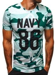 Athletic Nádherné maskáčové pánské tričko ATHLETIC 1028