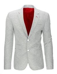 Šedé trendy pánské sako