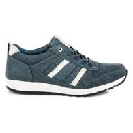 MAZARO Atraktivní sportovní šedé pánské boty - 42