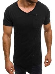 Athletic Módní bavlněné tričko s knoflíky ATHLETIC 1122AT