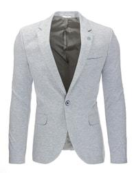 Fantastické šedé pánské sako
