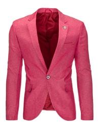 Atraktivní pánské růžové sako