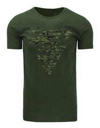 Stylové pánské zelené tričko HARMLESS