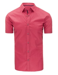 Fantastická růžová pánská košile s jemným vzorováním
