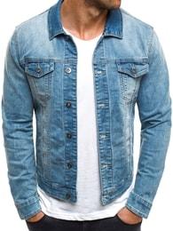 Adrexx Stylová pánská tmavě modrá džínová bunda ADREXX 31216