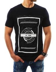 Černé originální pánské tričko STAY DYNAMIC - XXL