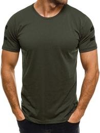 Northist Zelené tričko NORTHIST 514 v módním provedení