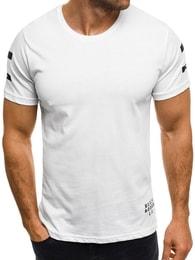 Northist Moderní bílé tričko NORTHIST 514