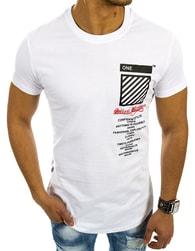 Trendy letní bílé tričko