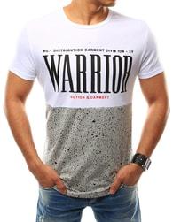 Bílé tričko WARRIOR