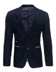 Originální granátové pánské sako