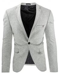 Sportovní šedé pánské sako