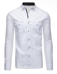 Bílá atraktivní košile