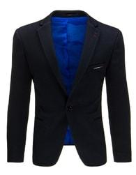 Tmavě-modré pánské sako