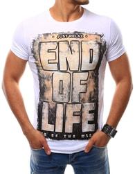 Bílé tričko END OF LIFE