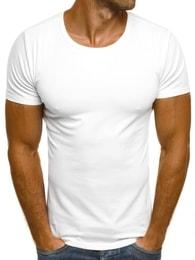 J. Style Klasické bílé pánské tričko J. STYLE 712006 - XL