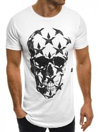 Breezy Fantastické pánské bílé tričko BREEZY 301
