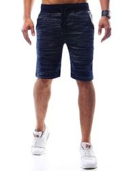 Dstreet Tmavě modré pánské kraťasy - XL