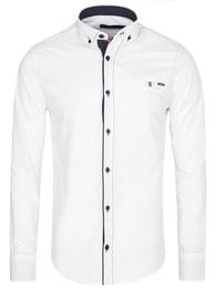 Rawlucci Moderní bílá pánská košile RAW LUCCI 784