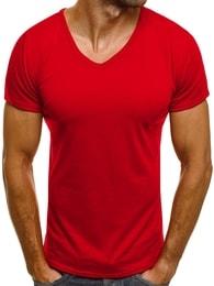 J. Style Trendy červené tričko J. STYLE 712007 - S