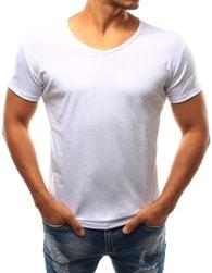 Dstreet Originální moderní bílé tričko
