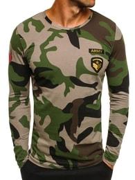 Athletic Originální pánské zelené tričko ATHLETIC 1086