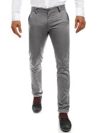 Black Rock Nádherné jedinečné šedé pánské kalhoty BLACK ROCK 206 - 30