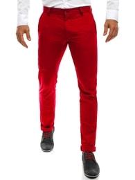 Black Rock Chinos moderní kalhoty červené BLACK ROCK 202 - 30