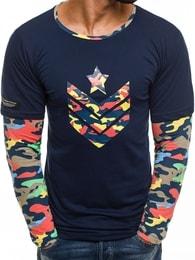 Athletic Svěží granátové tričko pánské ATHLETIC 1154