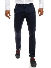 Black Rock Tmavě modré elegantní kalhoty BLACK ROCK 206