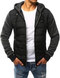 Dstreet Moderní černá pánská bunda