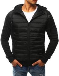 Dstreet Prošívaná bunda v černém provedení - M