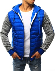 Dstreet Jedinečná modrá bunda - M