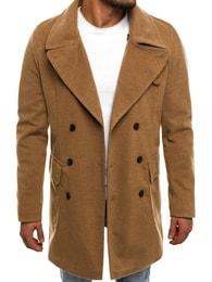 J.Boyz Béžový pánský kabát J.BOYZ 1048