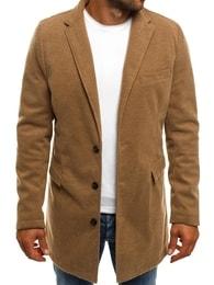 J.Boyz Béžový pánský kabát J.BOYZ 1047