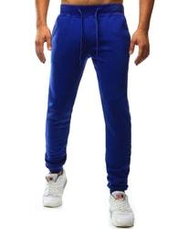 Dstreet Sportovní modré pánské tepláky - XXL