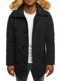 J.Boyz Módní černá zimní bunda J.BOYZ 1015 - XXL