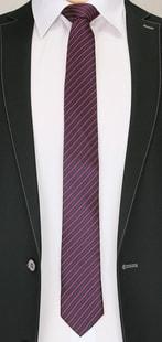 3 barevná pánská kravata