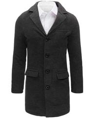 Dstreet Prodloužený pánský módní kabát - XXL