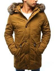 Dstreet Zimní hořčicová pánská bunda - L