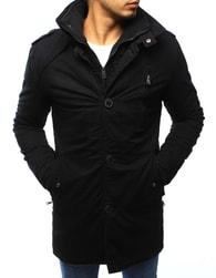 Dstreet Černá moderní zimní pánská bunda