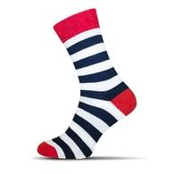 Crazy pruhované pánské ponožky - 37-40