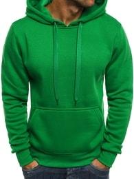 Jednoduchá velmi pohodlná zelená mikina J.STYLE 2009